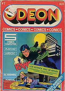 Revista vintage de cómic a 2000 Bs.