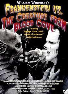 Frankenstein contra la creatura de la cueva sangrienta!!!